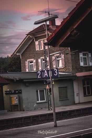 Taking Photos Bahnhof Sun Light Train Station