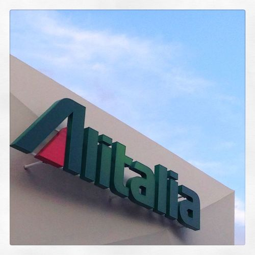 Alitalia Plane Company Expo Alitaliapavilion