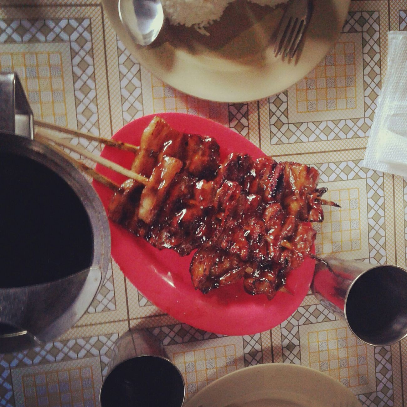 Mealtime Porkbarbecue