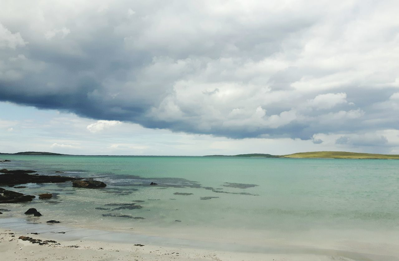 Beach Cloud - Sky Beauty In Nature Tranquil Scene Live For The Story Outerhebrides Westernisles Scotlandsbeauty Scotlandlover EyeEmNewHere The Great Outdoors - 2017 EyeEm Awards Hebridies Scottish Isles No People Pastel Colored Beauty In Nature Dramatic Sky Isleofuist Uist Traigh Lingeigh Clachansands Clachan Scottishbeach Travel Destinations Scotland