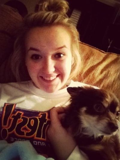 Spending my night watching movies with DEXX!