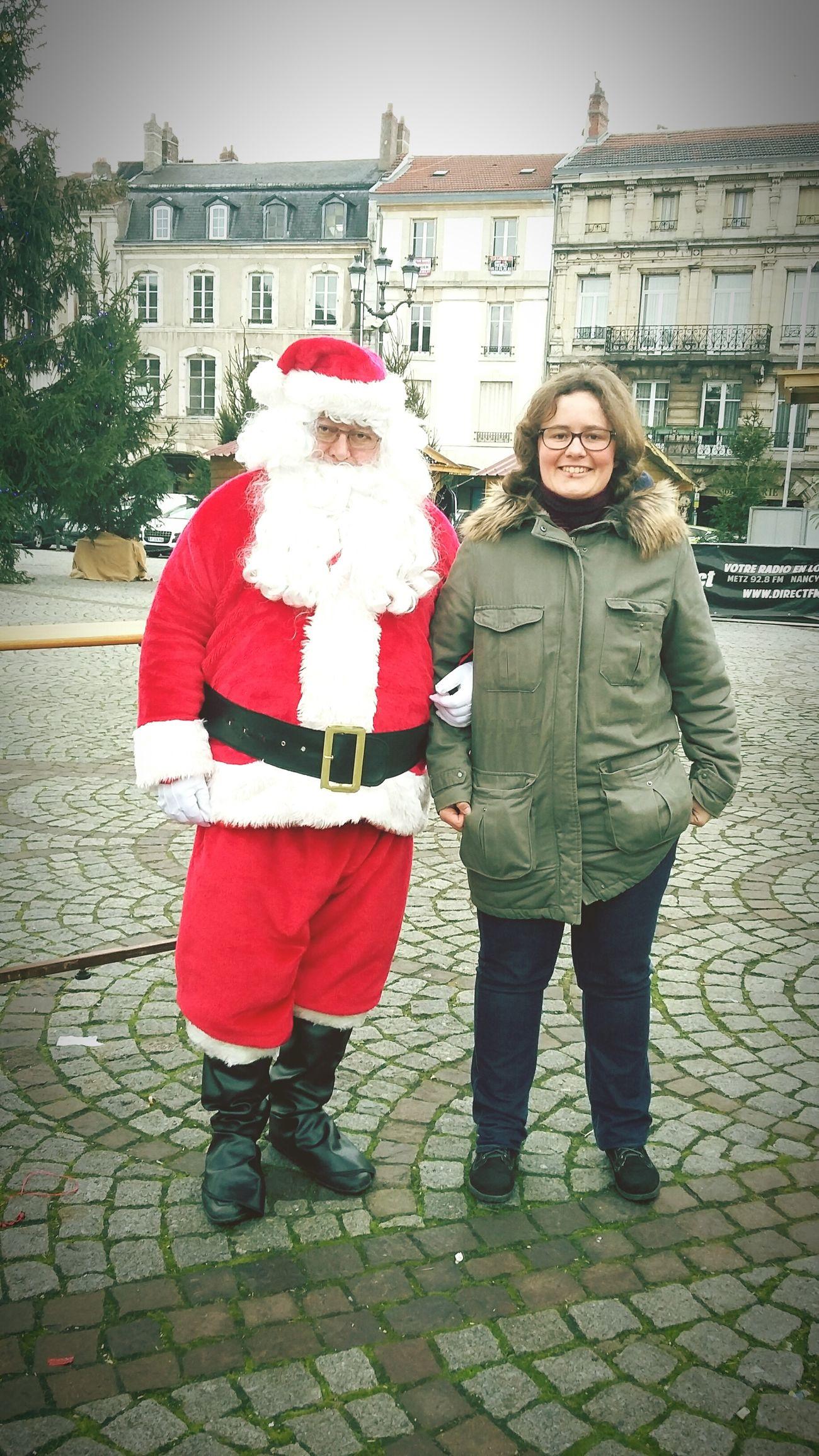 I met Santy  Santa Claus Père Noël Christmas Tree Noel2015 Open Edit