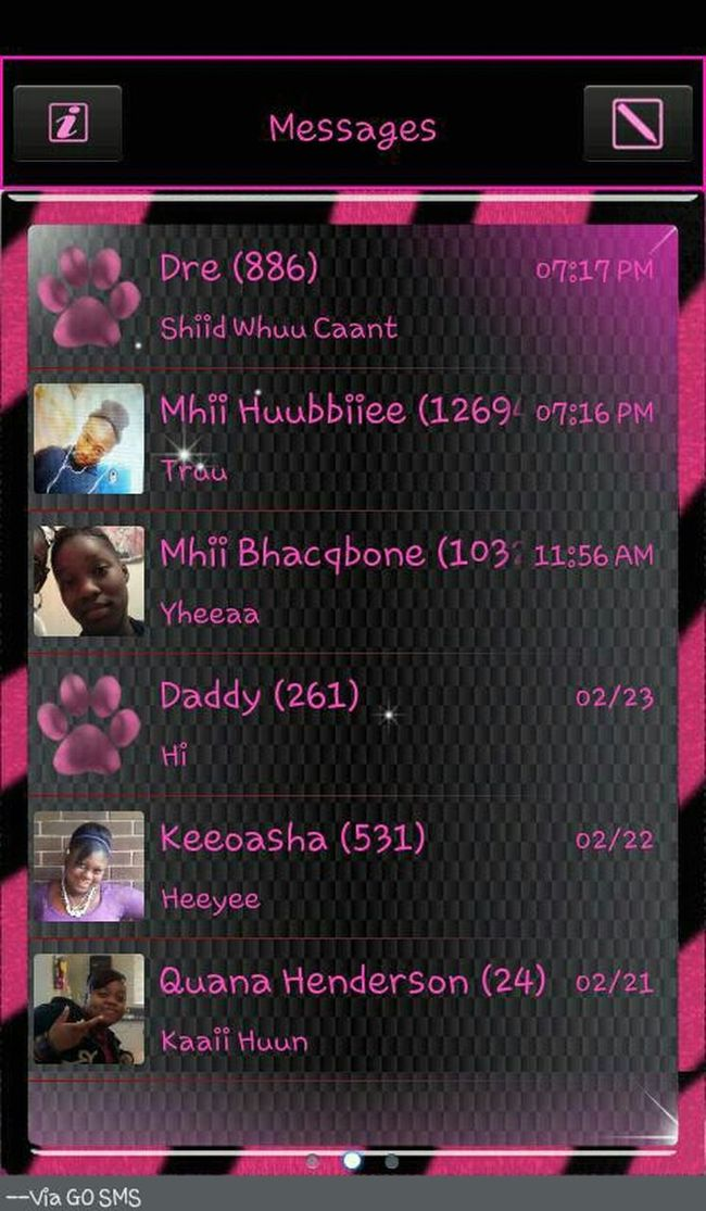 Who I Manily Text