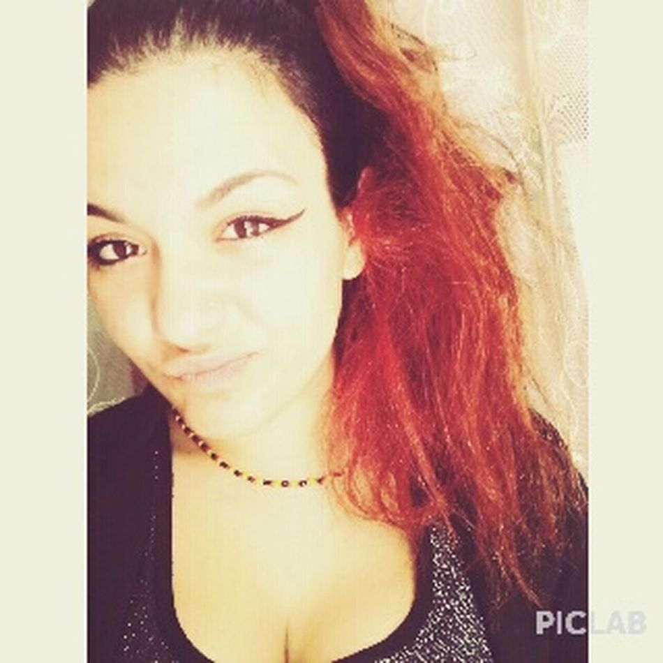 RedHAIR ❤ Eyeliner♥ Smorfie Cheese Sunny Afternoon Coda La Serietà In Persona. Pff 💜❤✌