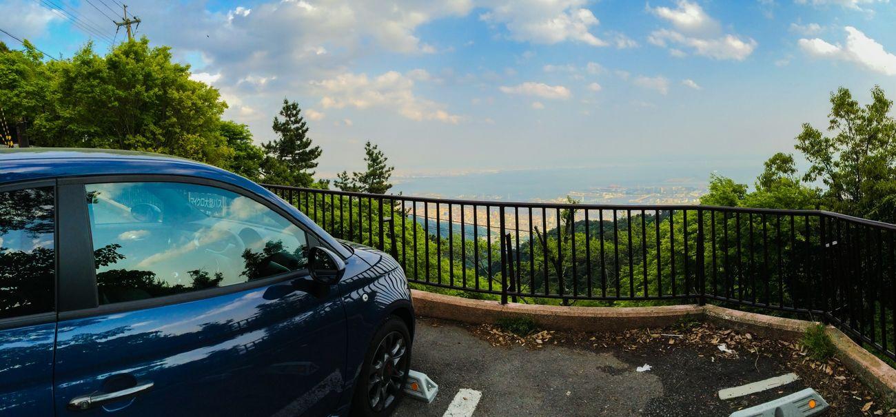 Enjoying Life Mountain View Fiat500