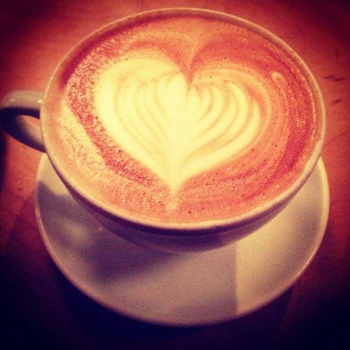 Heart Zoka Coffee Coffeeart Latteart
