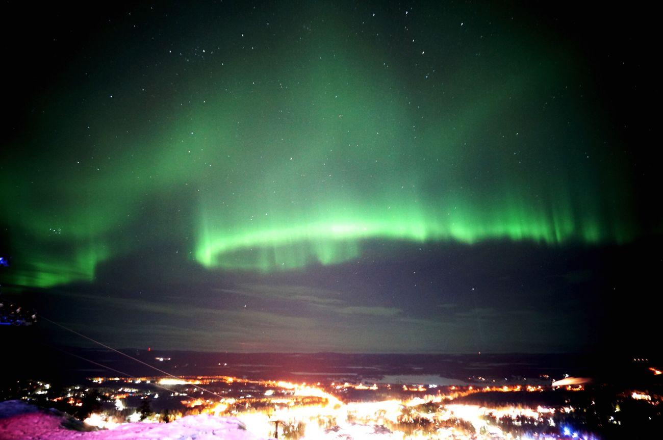オーロラ Kittira Levin Finland フィンランド Nature Aurora
