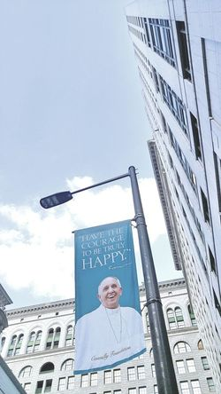 Philadelphia Philadelphia Downtown Popefrancis Light And Shadow Urban Geometry 🌈⭐🌠🌍🌞 Pope Francis is coming to Philadelphia Pa. 🔔
