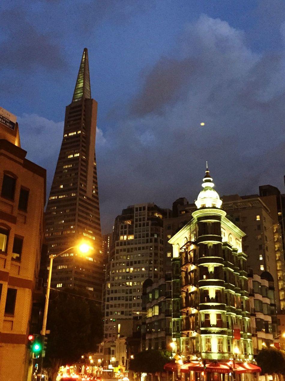 San Francisco at Night . City Night Lights Urban Landscape Eye4photography  Nightphotography Cityscapes