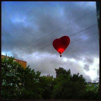 аэровальс ВНебе ВНебесах НебесаОбетованные ШарСердце ШарСердечко АУНасВоДворе ВоздушныйШар ВоздушныеШары Полеты2015 ПолетыНаВоздушномШаре HotAir OurYard HotAirBalloon InTheSky HotAirBallooning Flight2015 FlyingHeart HeartBalloon AeroWaltz