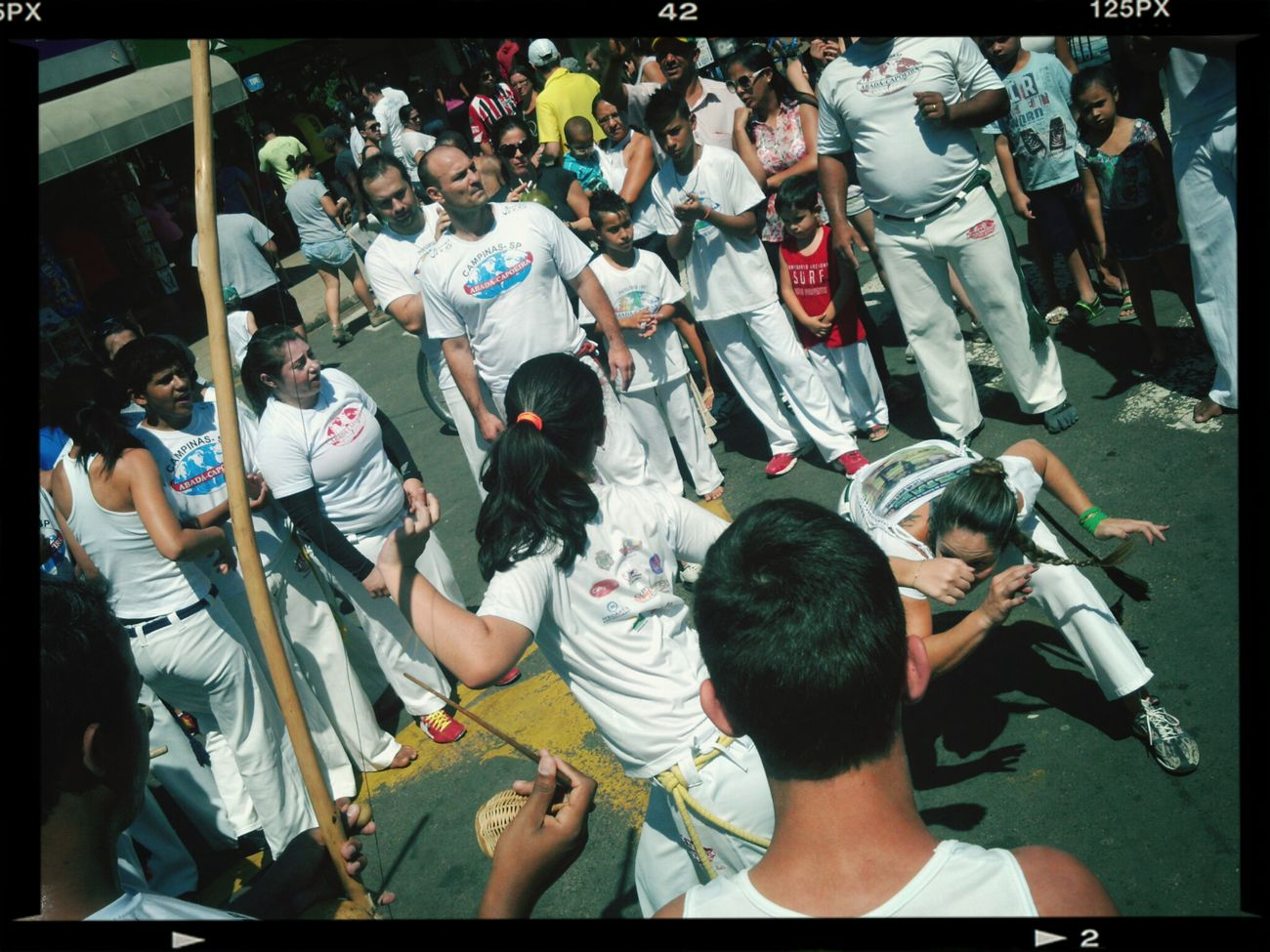 Capoeira, paranauê