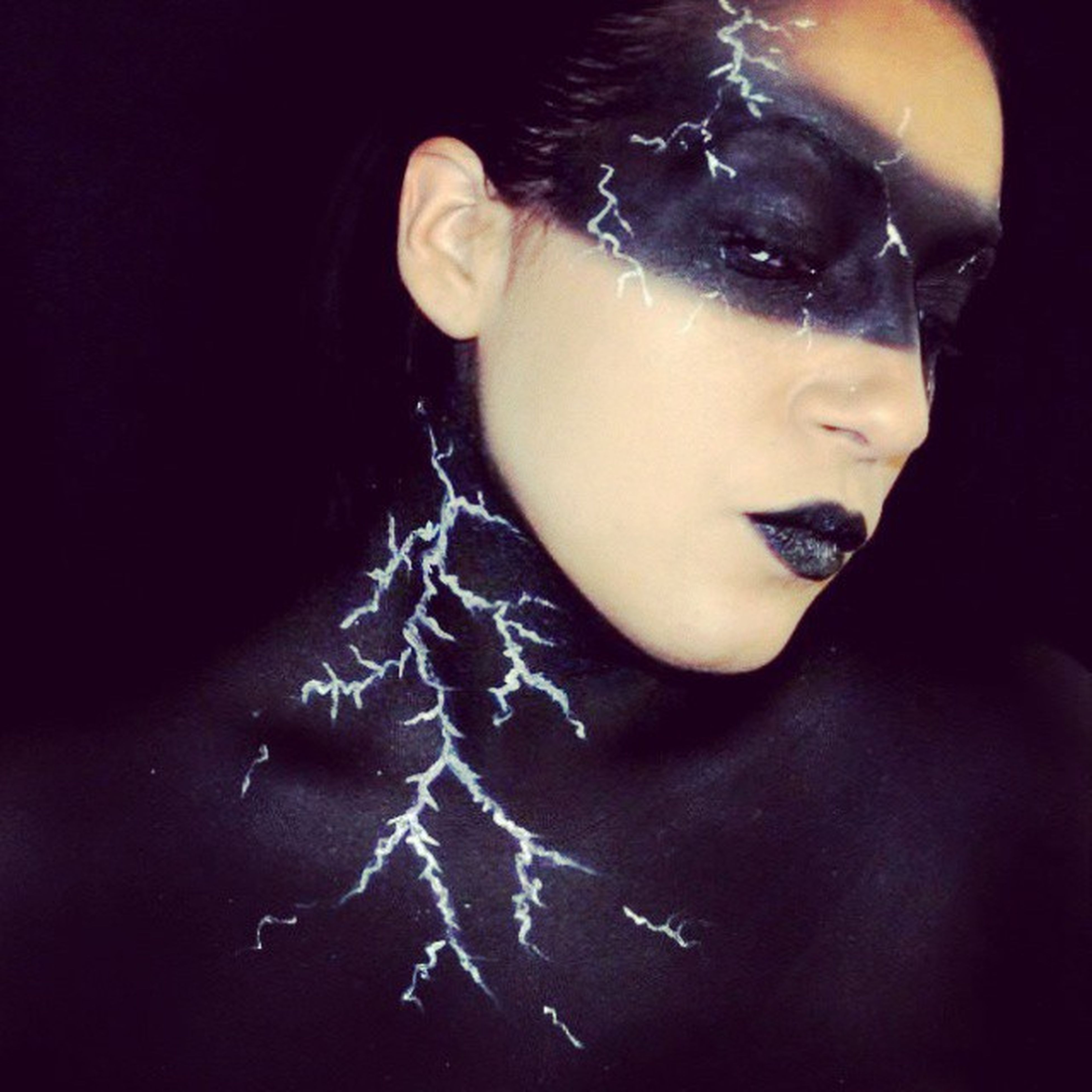 Witchwrath Halloweem Witch Wrath makeupartist makeup maquillage black cpl coupdepinceaudelilly
