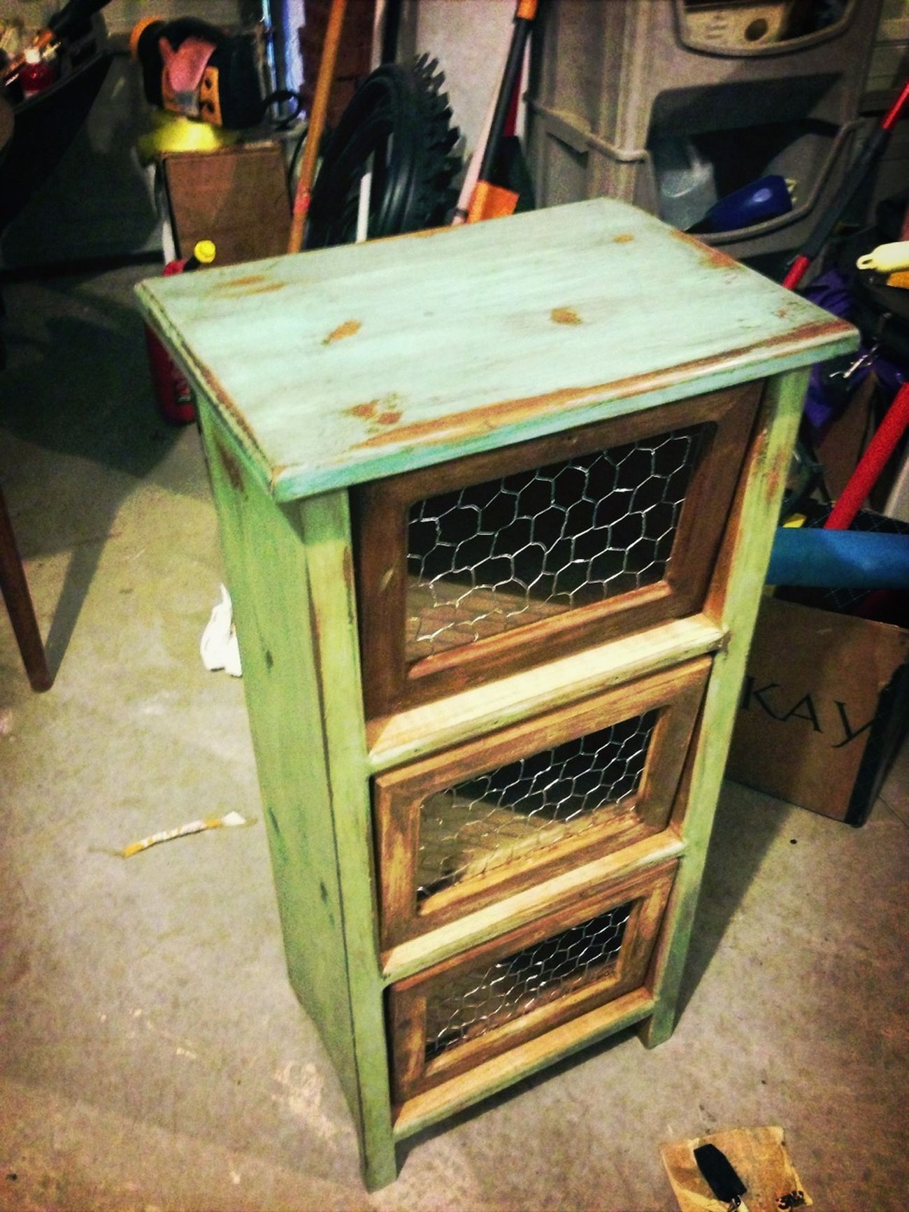 Potato Bin That Im Working On