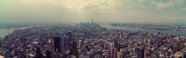 """What strange phenomena we find in a great city, all we need do is stroll about with our eyes open."" Landscape Empire State Building Travel Panoramic"