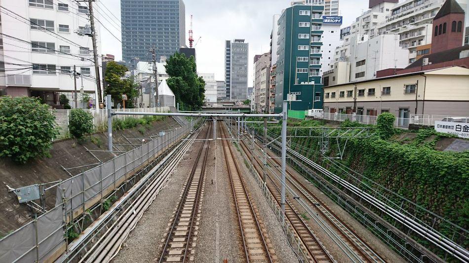 Subway Japan Tokyo,Japan Train Station Train Bridge Train LINE Parallel Lines Pallalel