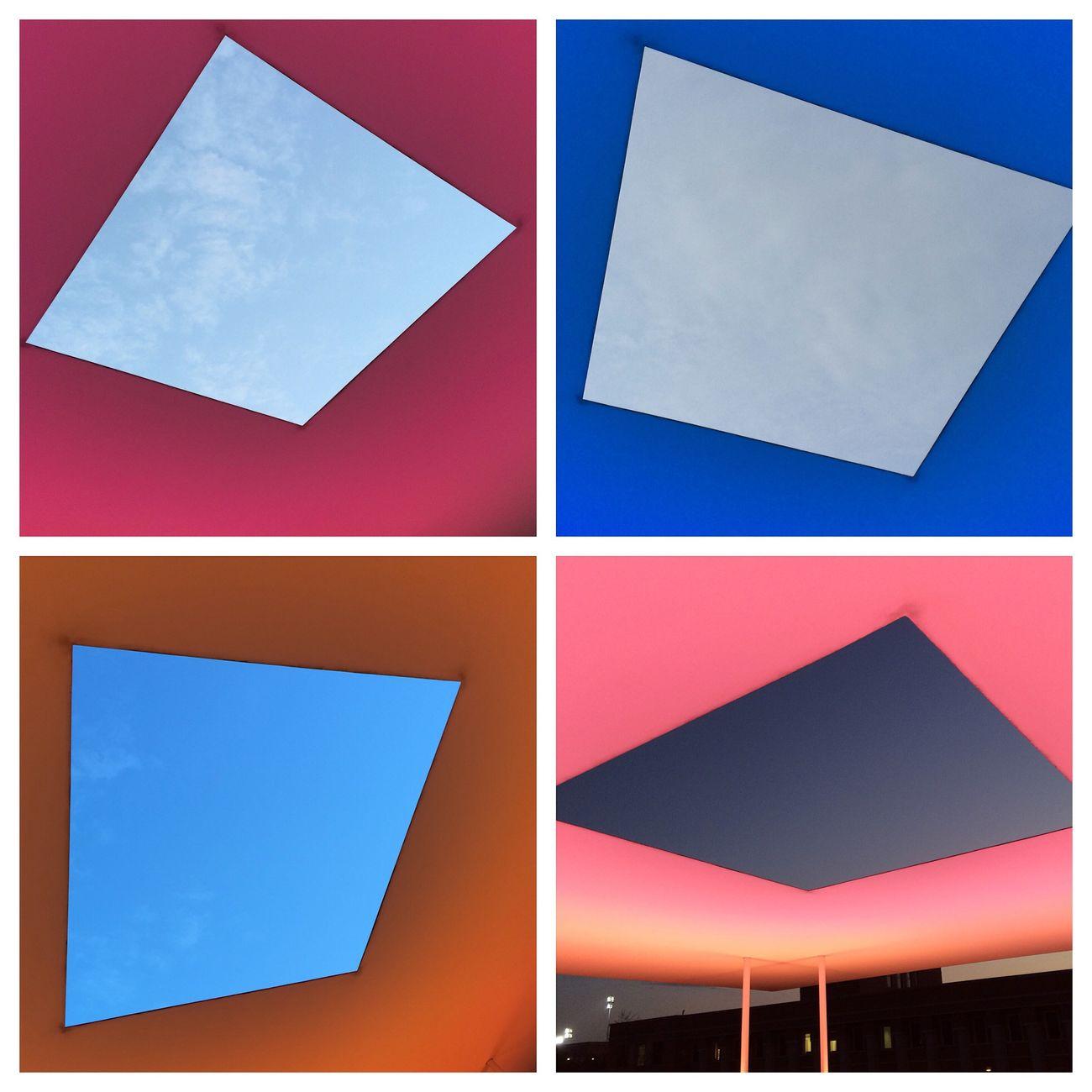Houston Sunset James Turrell Skyspace James Turrell Rice University Houston Texas