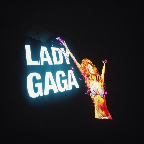 Lady Gaga ArtPop Seoul Checking In