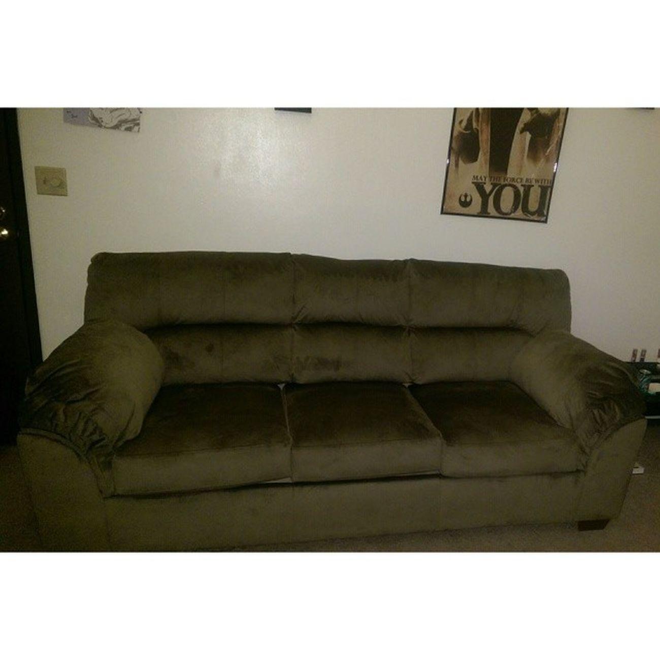Our first couch! Boyfriendisamazing Loveit