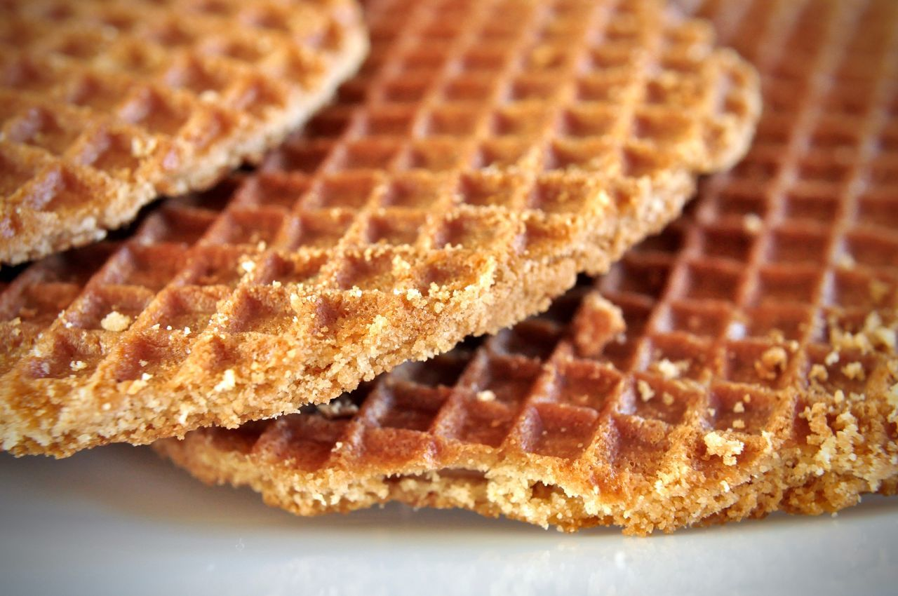 Biscuits Close-up Cookies Desert Dutch Food Food And Drink Freshness Ready-to-eat Scrumptious Stacked Still Life Stroopwafel Sweet Pie Table Tart - Dessert Treat Waffle Waffles Wafle