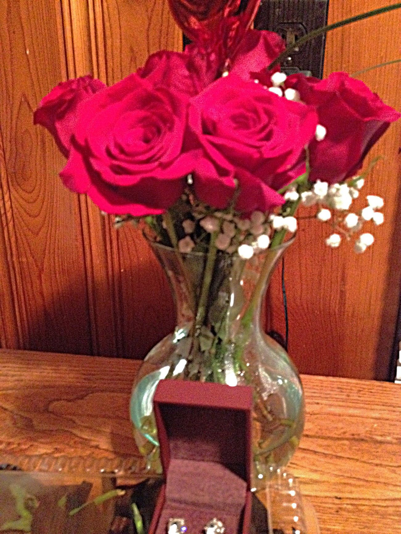 Red Roses Happy V♥Day Everyone or Single Awareness Day