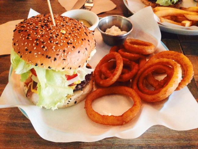 양파튀김 또 먹고싶다 Onion Rings Burger 예술의 전당 길벗버거 #food #수제버거