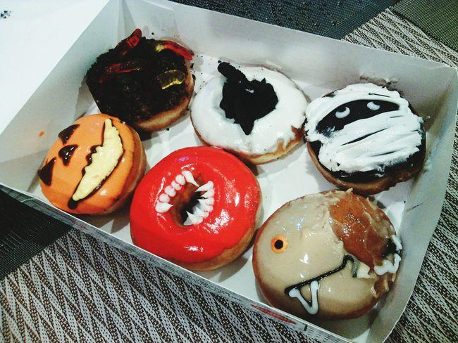 HappyHolloween Holloween2015 Donuts🍩 Donuts Love  KrispyKreme