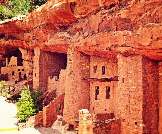 Monitou Springs Colorado Cliff Dwellings