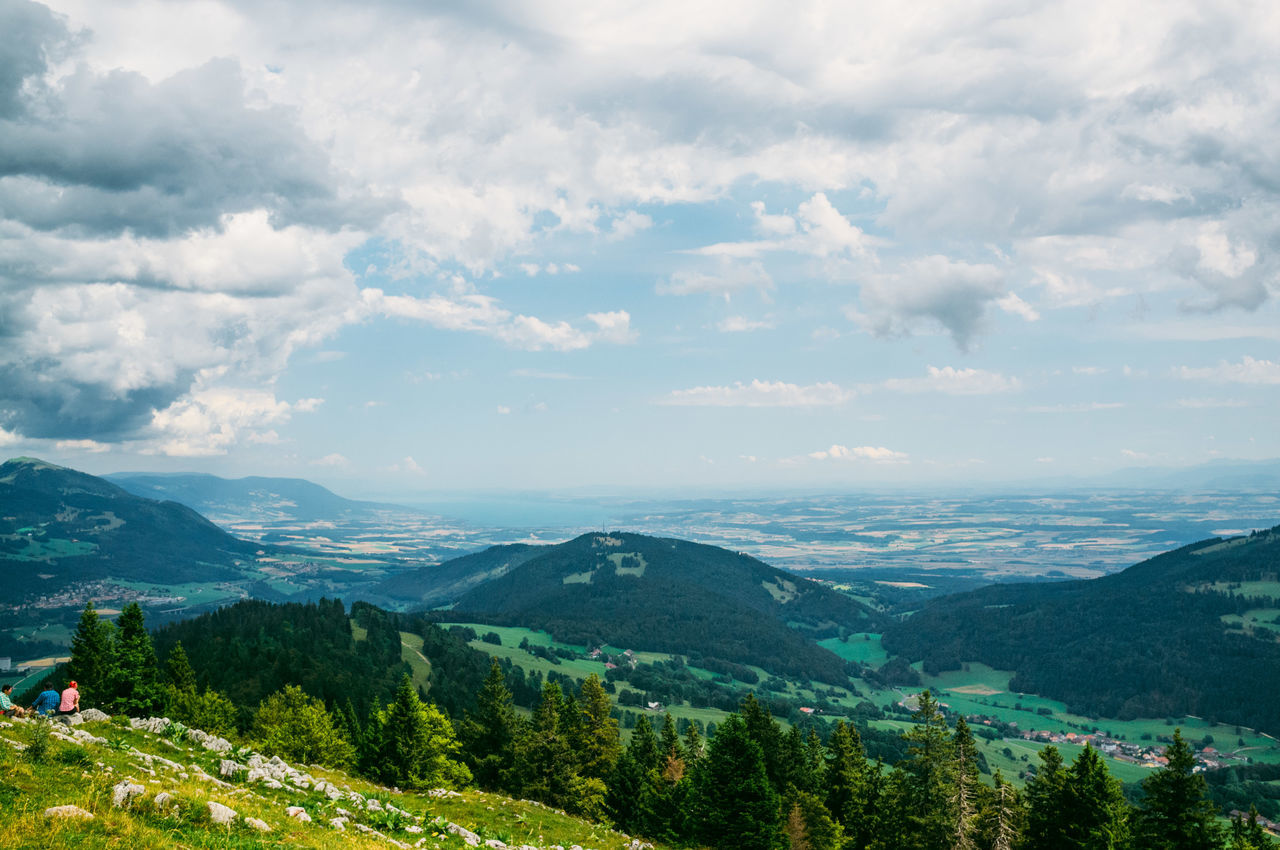 Beauty In Nature Day Hiking Landscape Lausanne Nature Outdoors Sky Swiss Alps Swiss Mountains Switzerland Tree