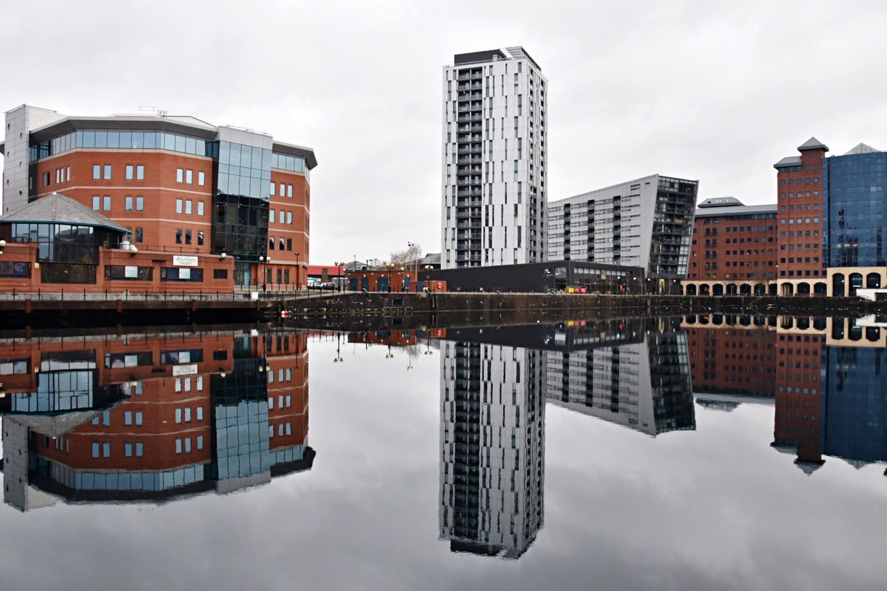 Mega reflections. Reflection Architecture Built Structure Building Exterior Water Waterfront City Sky Symmetry Outdoors Architecture Reflections Architecture Photography Urban Landscape Water Reflections EyeEm Masterclass Getty X EyeEm Modern Architecture Architecturelovers Urban Reflections EyeEm Gallery Modern Buildings EyeEm No People Day