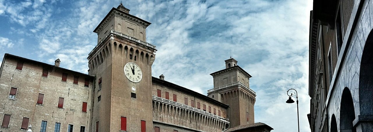 Ferrara, castello Estense Ferrara Ferrara- Italy Ferrara's Castle Castello Estense Castles Castle Architecture Ancient Architecture Emiliaromagna Clouds