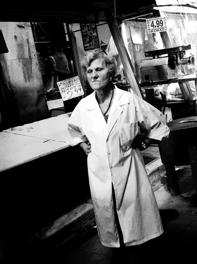 The powerful people in Athens meat market. NEM Street Street Photography Streetphotography