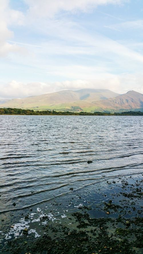 Perfect spot for a little rest 🌊⛅😊 Water Tranquil Scene Scenics Mountain Beauty In Nature Idyllic Calm Lake View Ripples In The Water Peaceful Place Lake District Bassenthwaite Lake