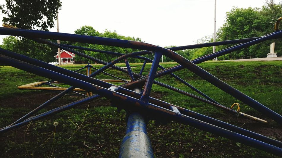 Playground Playgrounds Play Playing Playground Equipment Playground Fun Playtime Blue The Past Metal Rusty Rustygoodness Chipped Paint Rusty Things Rusty Autos Park The Park Kansas Lines Vintage Old Old Fashioned. Antique Playtime... RustyLicious