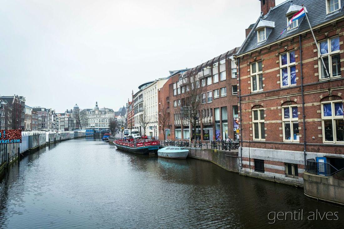 Memories Treveling Nederland Moments Passeio  Landscape Amsterdam In Amsterdam Amsterdam Canal Amsterdamcanal