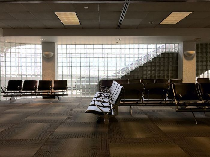 Empty space, travel, airport
