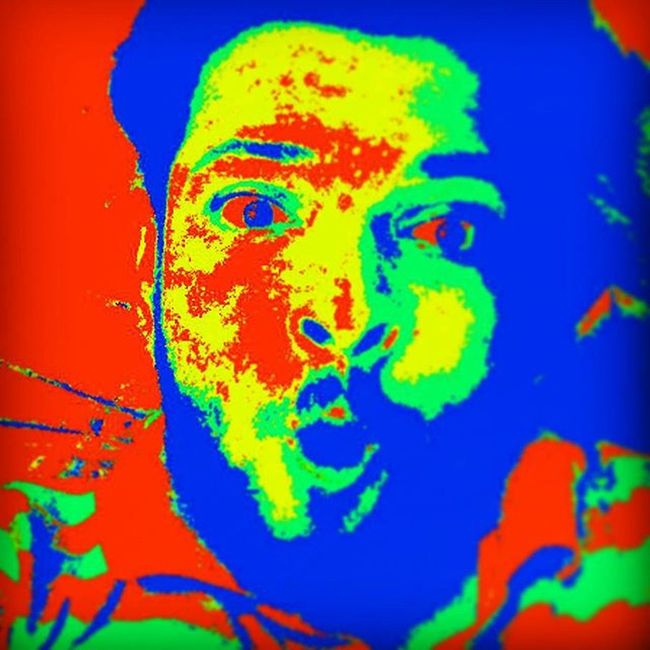 We are all damaged in our own way. I think we all are somewhat screwy. Every single one of us. Thermal Thermals Thermalimaging Selfie Selfietime Igers Wierd Wierdo Wierdface Tint Eyeforeye Highlife Highlifestyle Instadaily Edited Editedbyme Instagood Recent4recent Like4like Beyourself Blood Bloodred Zombie Zombies