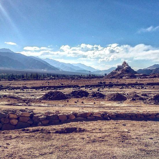 Incredible Ladakh Day Cloud - Sky Mountain Sky Outdoors Nature No People Mountain Range Landscape Salt Flat Arid Climate Scenics Beauty In Nature Salt - Mineral Salt Basin