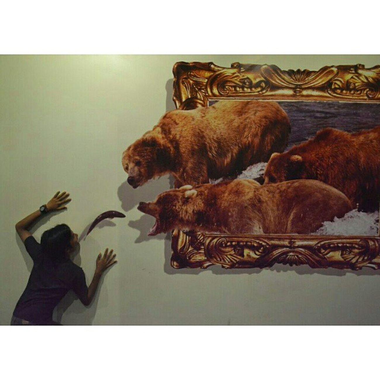 Fiiiissshhhh 😲 Beruang Xtsquare Demata Trickeyemuseum 3D jogja loloftheday like4like