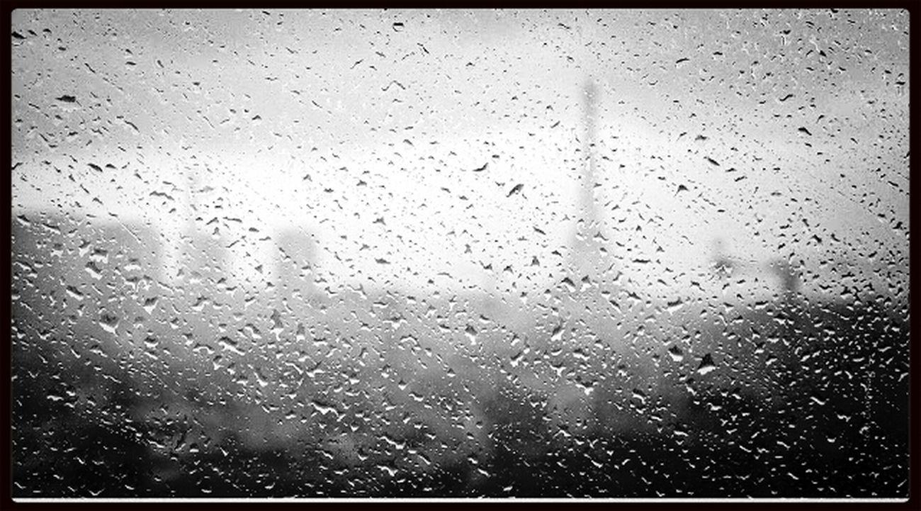 Paris in the rain Monochrome_Monday Paris Street Photography Rain Drops