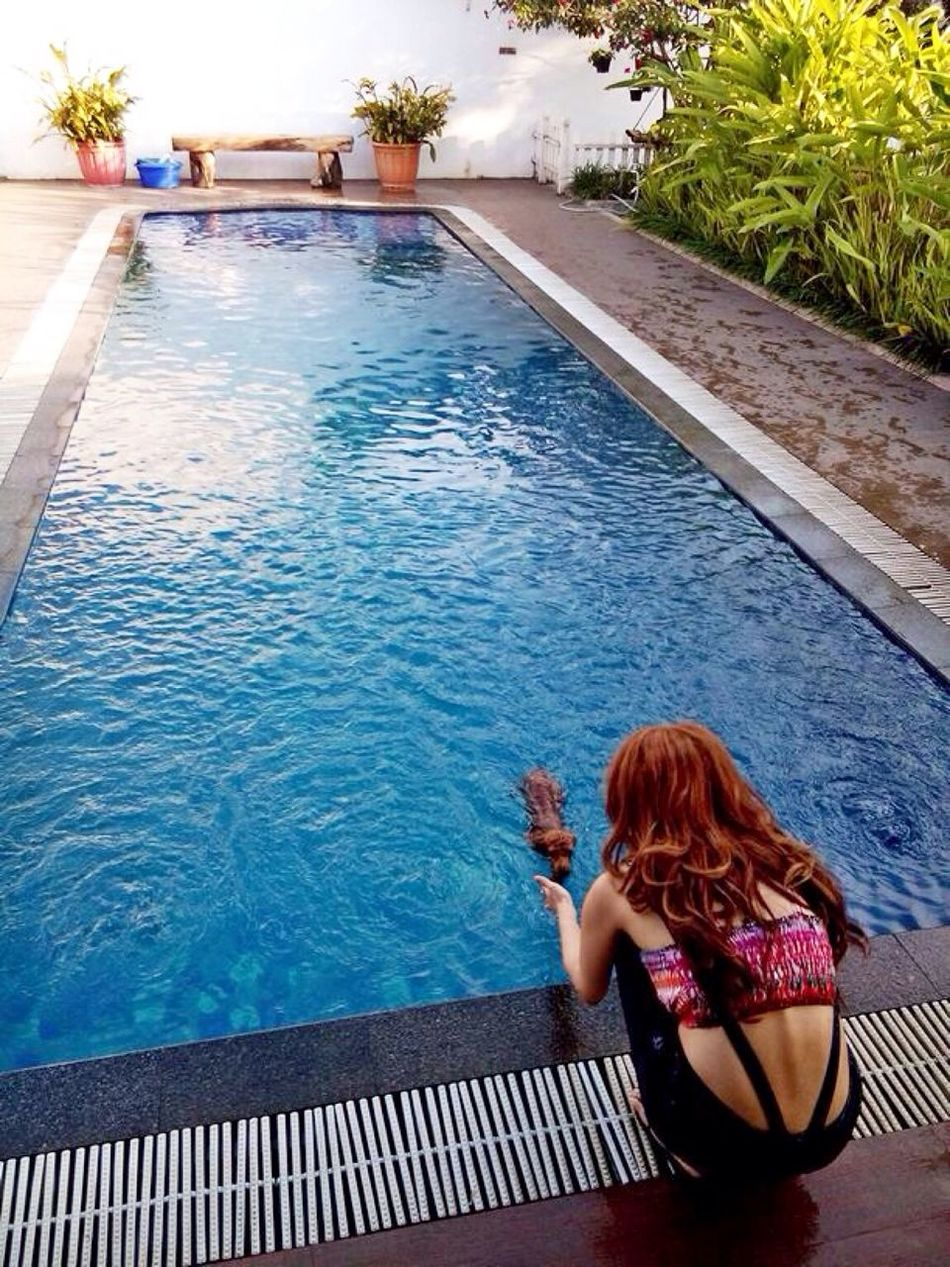 Swimming time ala batbat