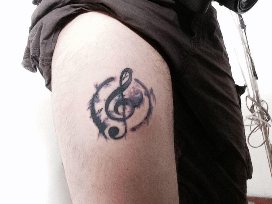 My first tattoo!! :D Tattoo My First Tattoo! Bodyart Music