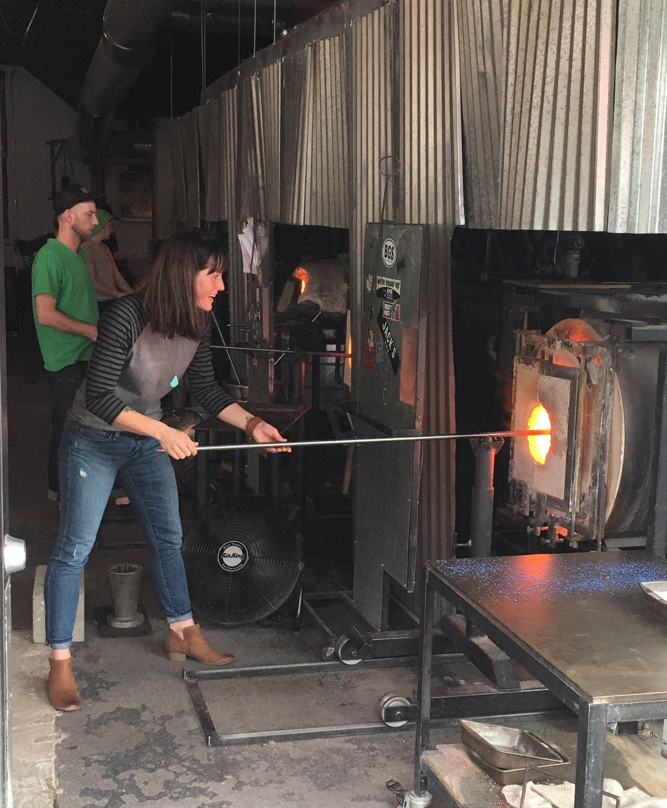 Flame Seattle Gamble Glass Blowing Furnace Fire Check This Out Woman Of EyeEm Woman Working Hot Hot Women Who Inspire You Womenpower Woman At Work Art ArtWork Creativity Seattle Gamble