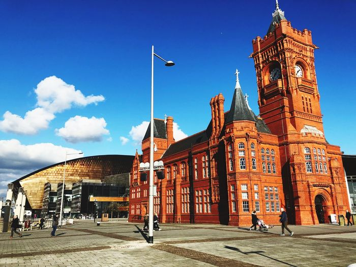Millennium Centre Cardiff 2015 Cardiff Architecture Built Structure Building Exterior Day Sky History Outdoors Sunlight