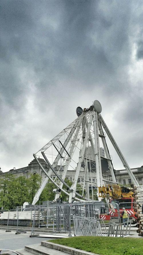 Piccadilly Gardens Manchester Ferris Wheel