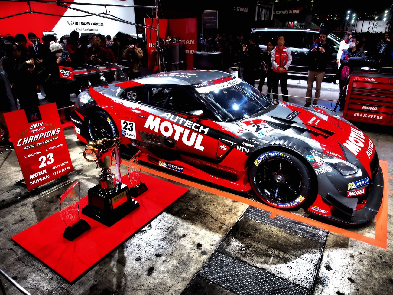 SUPER GT 2014 Champions car. Tokyo Auto Salon 2015 Super Gt Racing Car Sexy Car Car Cars CarShow Car Porn Enjoying Life 東京オートサロン 東京オートサロン2015