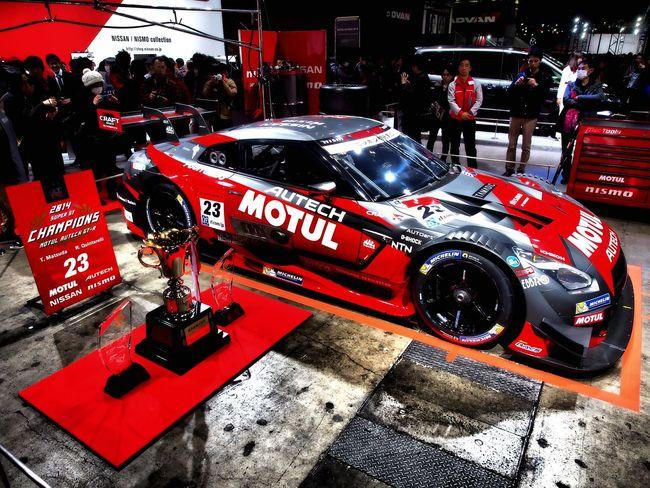SUPER GT 2014 Champions car. Tokyo Auto Salon 2015 Super Gt Racing Car Sexy Car Car Cars CarShow Car Porn Enjoying Life 東京オートサロン 東京オートサロン2015