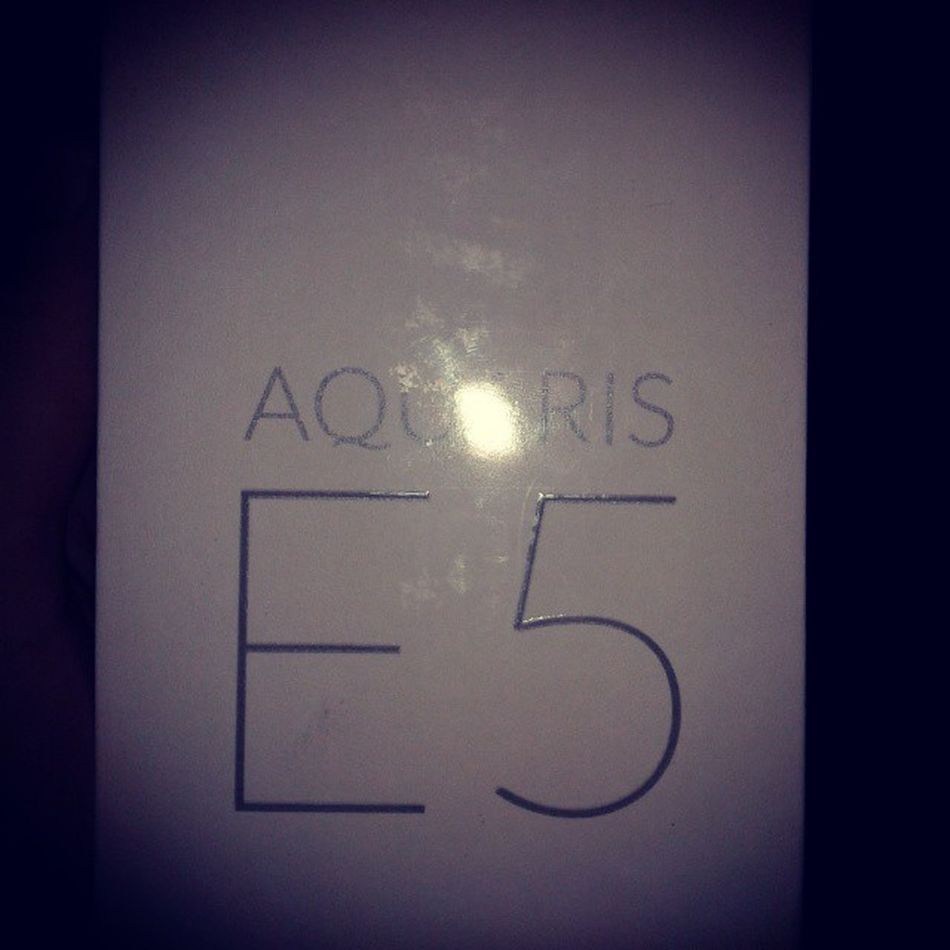 Já chegou :) Bq Aquaris E5 FHD Quasedeborla FNAC