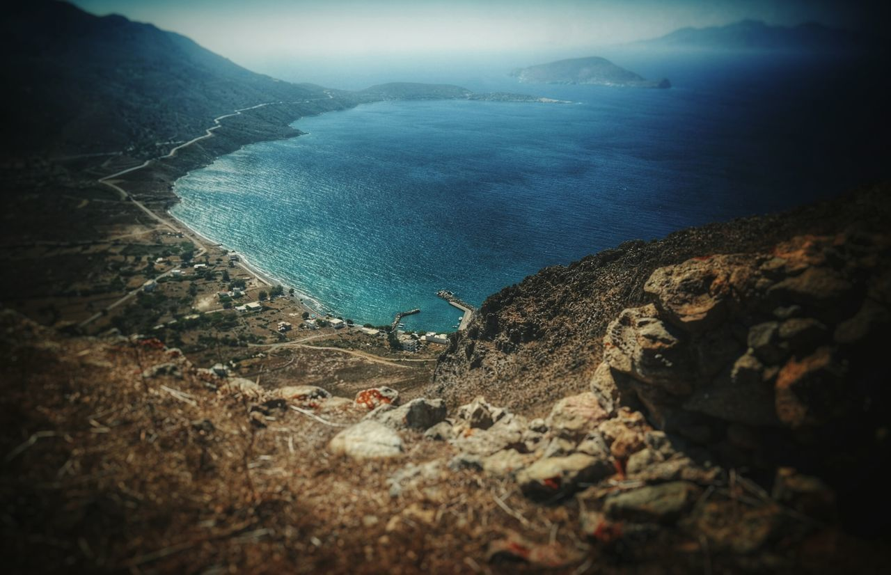 Tilos Greek Islands Dodecanese Mountains Mountain View Beauty In Nature Nature Landscape Sky Water Sea No People Holiday Memories Travel Megalochoriou Outdoors