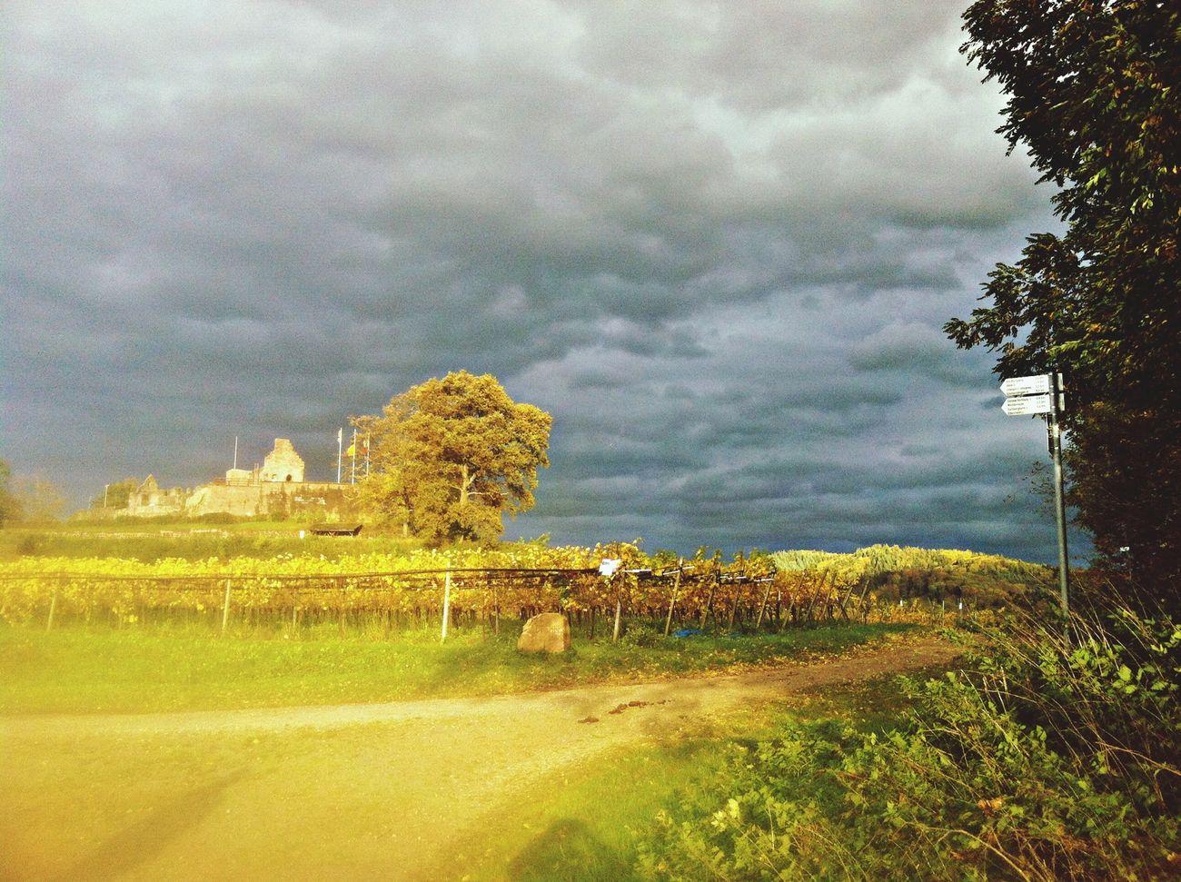 Hochburg an stürmischen Tagen
