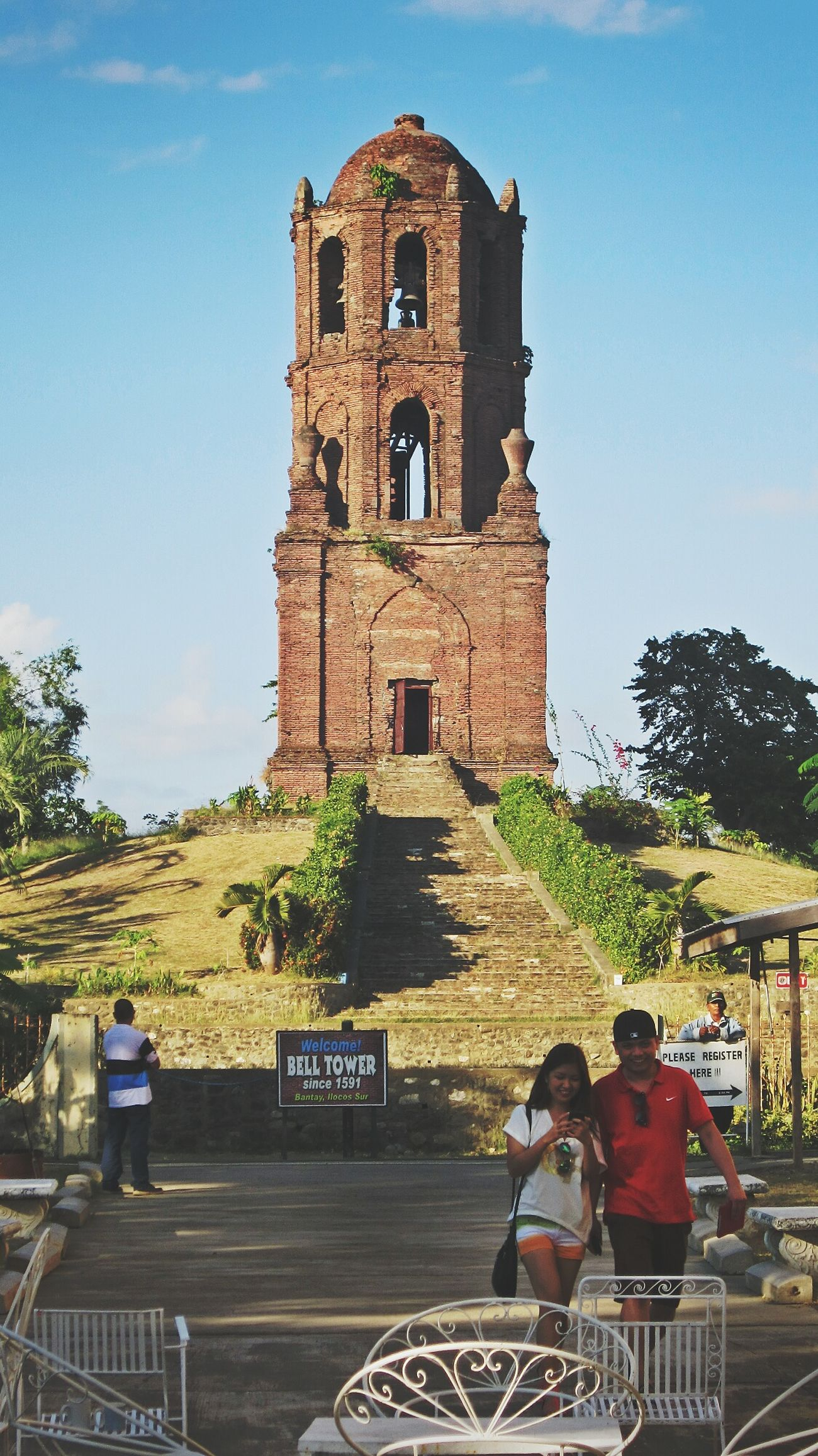 Travel Photography Travel Bantay Ilocos Sur Philippines Belfry Belltower Old
